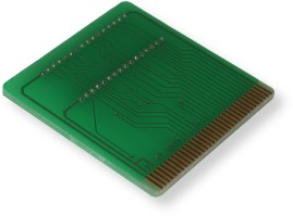 Harry Dodgson - Green PCB 1 Cartridge Style - Front