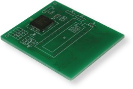 Songbird Productions - Green PCB 3 Cartridge Style - Back