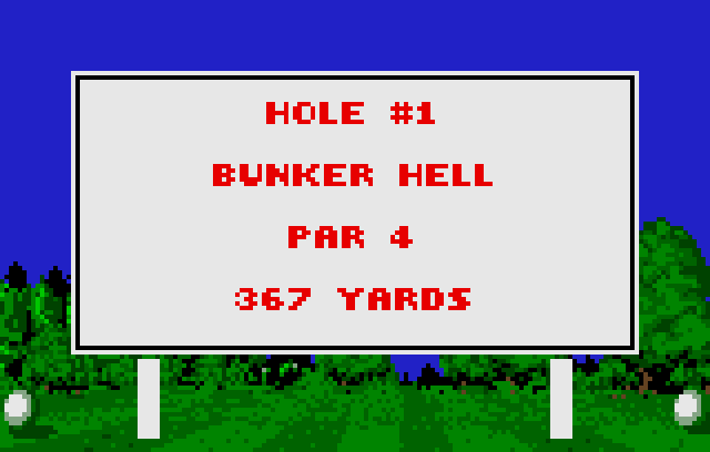 Awesome Golf - Screenshot
