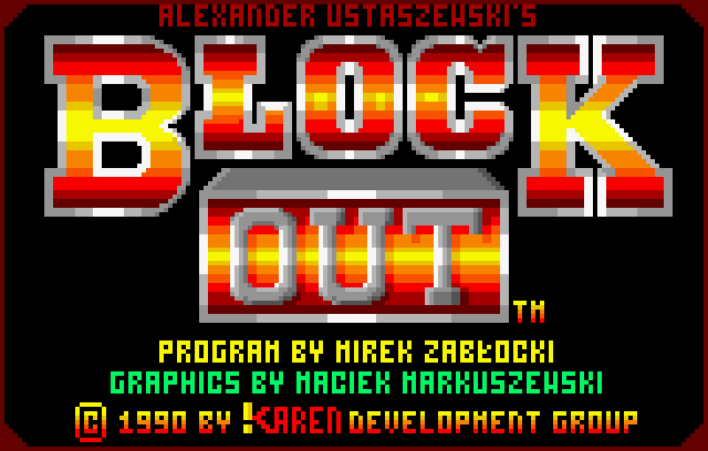 Block Out - Screenshot
