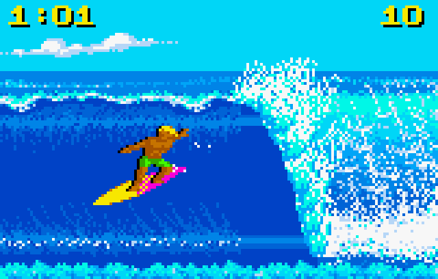 California Games - Screenshot