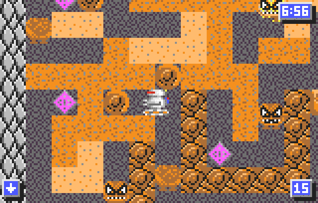 Crystal Mines II: Buried Treasure - Screenshot