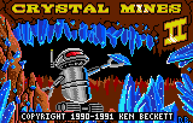Crystal Mines II - Screenshot