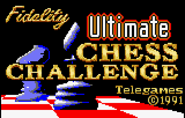 Fidelity Ultimate Chess Challenge - Screenshot