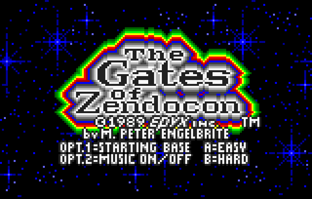 Gates of Zendocon - Screenshot