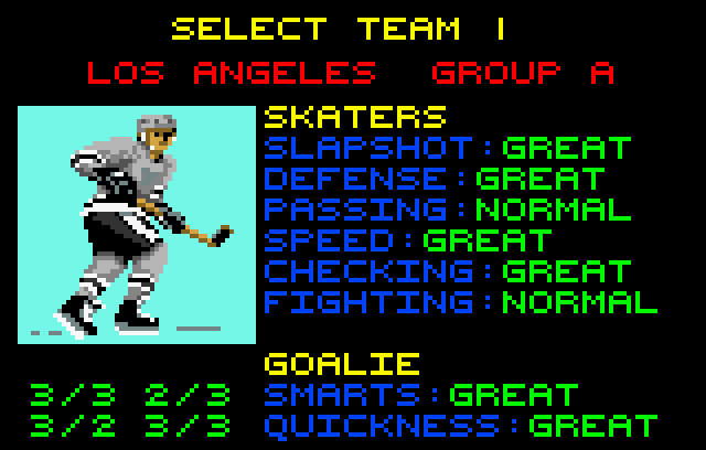 Hockey - Screenshot