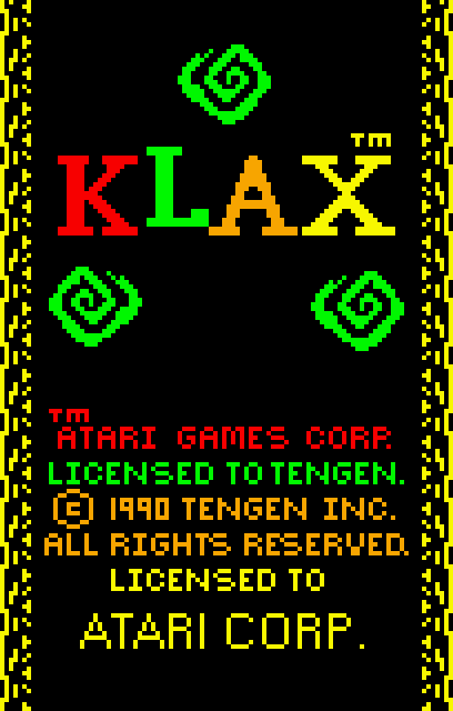 KLAX - Screenshot