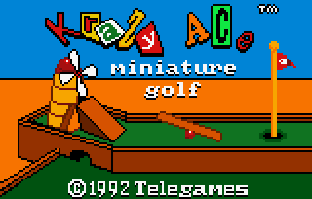Krazy Ace Miniature Golf - Screenshot