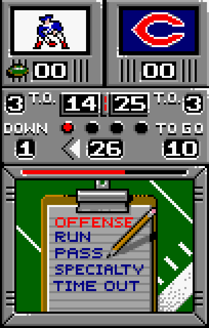 NFL Football - Screenshot