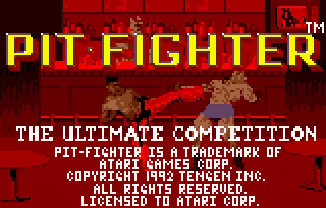 Pit-Fighter - Screenshot