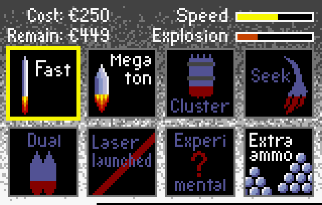 Super Asteroids & Missile Command - Screenshot