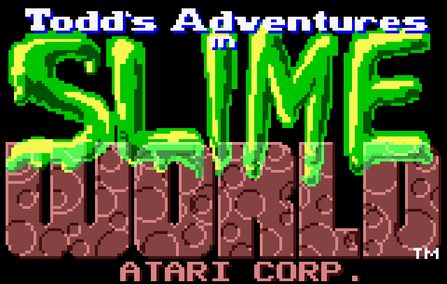 Todd's Adventures in Slime World - Screenshot