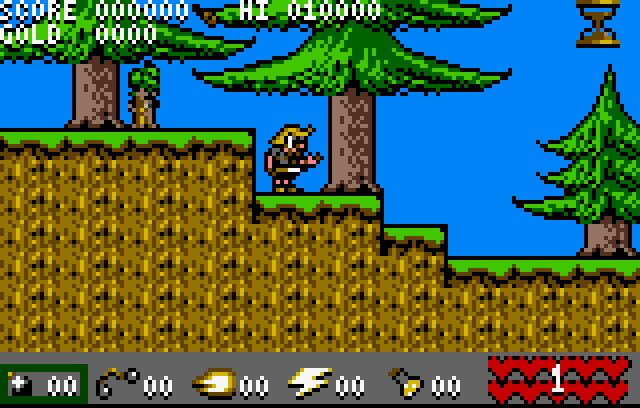 Viking Child - Screenshot