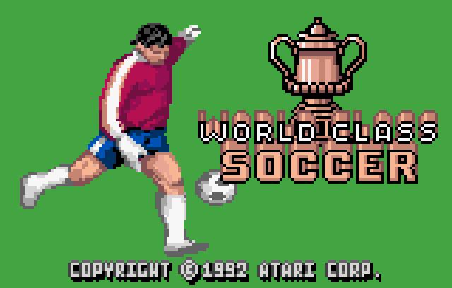 World Class Fussball/Soccer - Screenshot