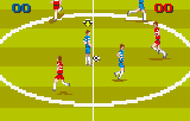 World Class Fussball/Soccer - Screenshot