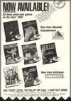 Page 1, Double Dragon, F-18 Hornet, Pete Rose Baseball, Rampage, Super Skateboardin', Title Match Pro Wrestling, Tomcat: The F-14 Fighter Simulator