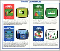 Page 2, Boxing, Fishing Derby, Skiing, Tennis