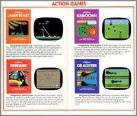 Page 3, Dragster, Freeway, Kaboom!, Laser Blast