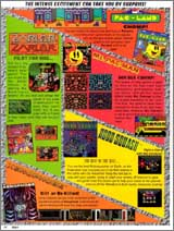 Page 14, Ms. Pac-Man, Pac-Land, Robo-Squash, Xenophobe, Zarlor Mercenary