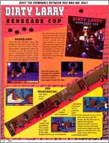 Page 18, Dirty Larry: Renegade Cop