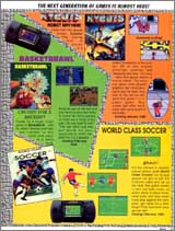 Page 21, Basketbrawl, World Class Fussball/Soccer, Xybots