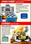 Page 23, Combat, Video Chess