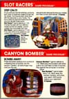 Page 32, Canyon Bomber, Slot Racers