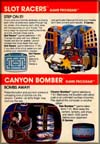 Page 36, Canyon Bomber, Slot Racers