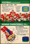 Page 15, Football, Human Cannonball