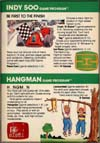 Page 27, Hangman, Indy 500