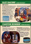Page 38, Canyon Bomber, Slot Racers