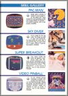 Page 10, Pac-Man, Sky Diver, Super Breakout, Video Pinball