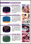 Page 14, Defender, Missile Command, Space Invaders, Space War