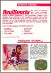 Page 29, RealSports Baseball