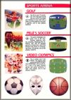 Page 33, Golf, Pele's Soccer, Video Olympics