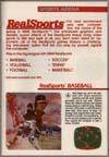 Page 25, RealSports Baseball