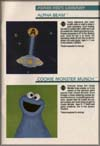 Page 33, Alpha Beam with Ernie, Cookie Monster Munch