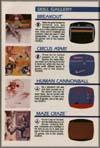 Page 9, Breakout, Circus Atari, Human Cannonball, Maze Craze