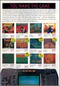 Page 4, Baseball Heroes, Gauntlet: The Third Encounter, Ninja Gaiden III: Ancient Ship of Doom, Scrapyard Dog, Shadow of the Beast, Super Skweek, Todd's Adventures in Slime World, Toki, Tournament Cyberball, Viking Child, Xybots, Zarlor Mercenary