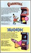 Page 4, Carnival, Zaxxon
