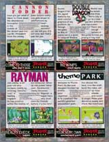 Page 14, Cannon Fodder, Double Dragon V, Rayman, Theme Park