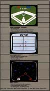 Page 6, Space Attack, Super Challenge Baseball, Tron: Deadly Discs