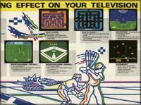 Page 4, Astroblast, Dark Cavern, Lock 'N' Chase, Star Strike, Super Challenge Baseball, Super Challenge Football