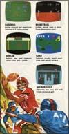 Page 2, Arcade Golf, Baseball, Basketball, Golf, Soccer
