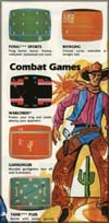 Page 3, Bowling, Gunslinger, Pong Sports, Tank Plus, Warlords