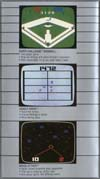 Page 6, Deadly Discs, Space Attack, Super Challenge Baseball