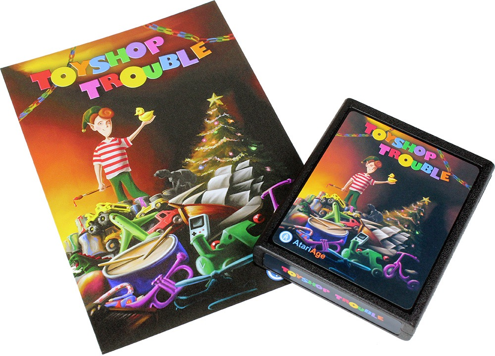 Details about Toyshop Trouble - Original Atari 2600 Homebrew Game - New!