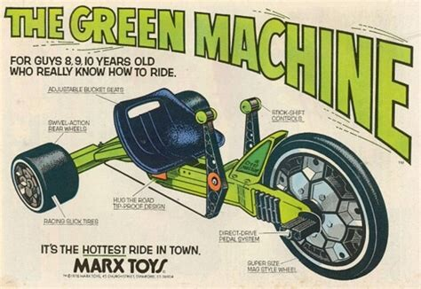The Hottest Ride in Town: Remembering Marx's Green Machine