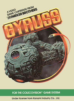 Gyruss for Colecovision Box Art