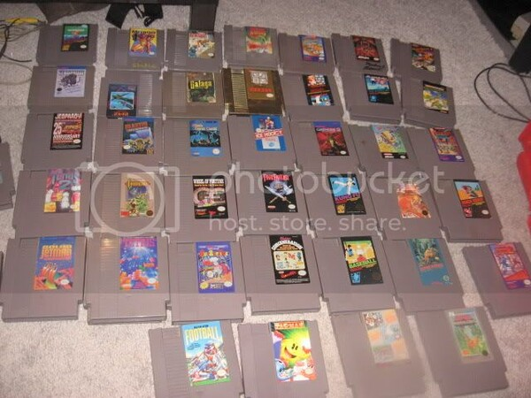FS: Bunch of NES Games - Buy, Sell, and Trade - AtariAge Forums